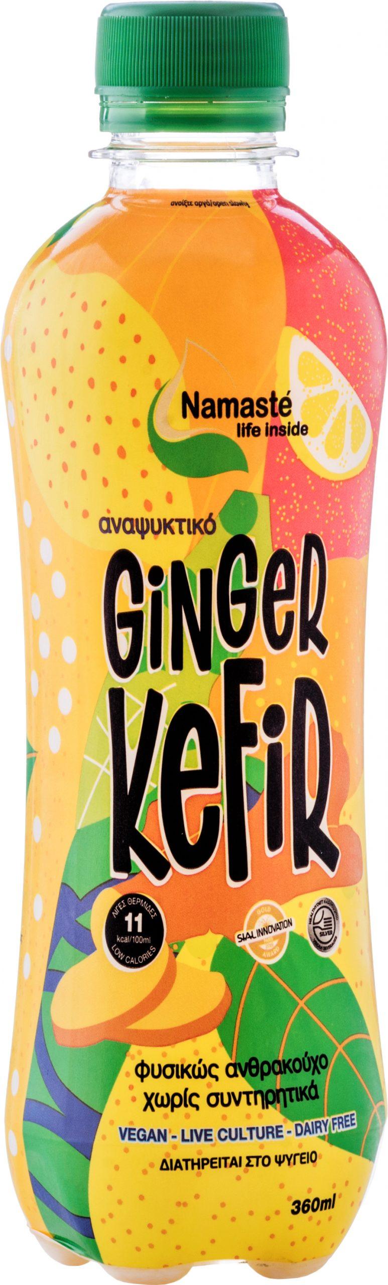 Ginger Kefir