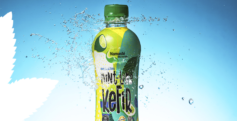 Mint Lime kefir